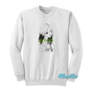 Billie Eilish Manga Sweatshirt