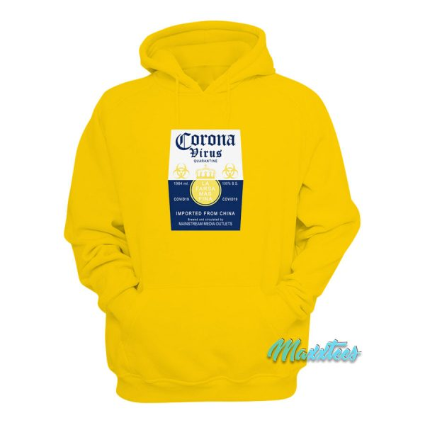 Coronavirus Corona Extra Parody Hoodie