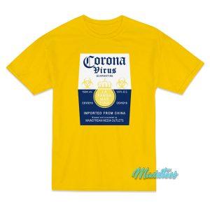 Coronavirus Corona Extra Parody T-Shirt