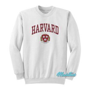 Harvard University College Logo Sweatshirt