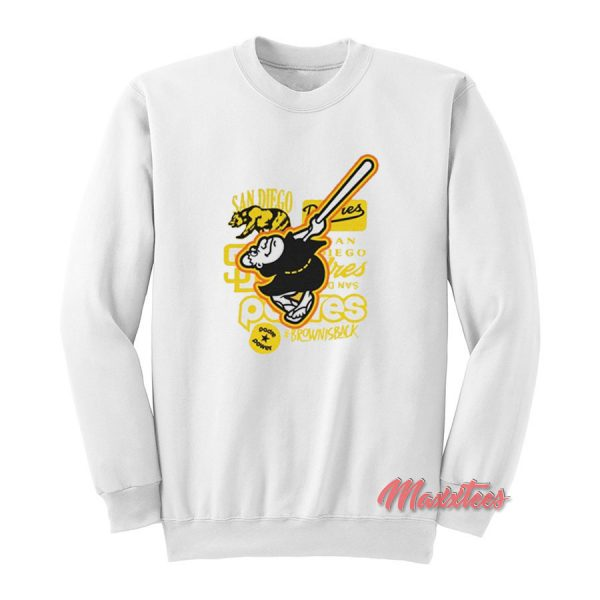 San Diego Padres Collaboration With Tommy Pham Sweatshirt