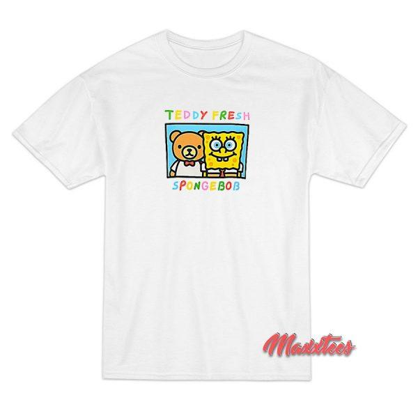 Teddy Fresh X SpongeBob SquarePants Friends Coral T-Shirt