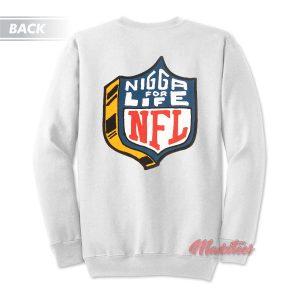 4Hunnid NFL Logo Parody Sweatshirt