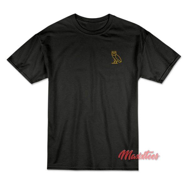 OVO Owl Small Logo T-Shirt