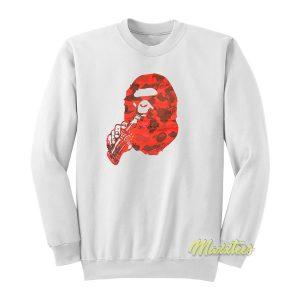 A Bathing Ape Bape x Coca Cola Sweatshirt