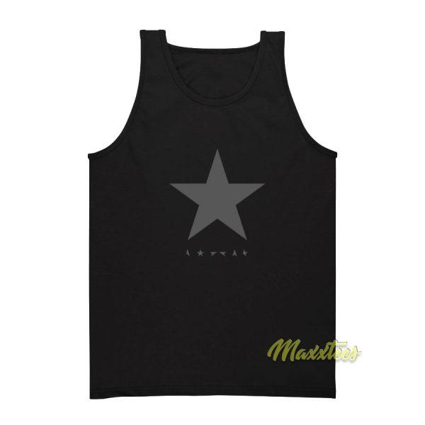 David Bowie Blackstar Album Logo Tank Top