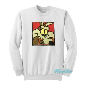 Wile E Coyote The Road Runner Show Sweatshirt