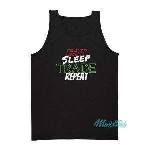 Eat Sleep Trade Repeat Tank Top