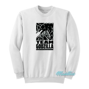 Godzilla vs Kong Team Godzilla Sweatshirt