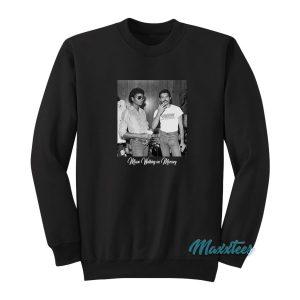 Michael Jackson And Freddie Mercury Sweatshirt