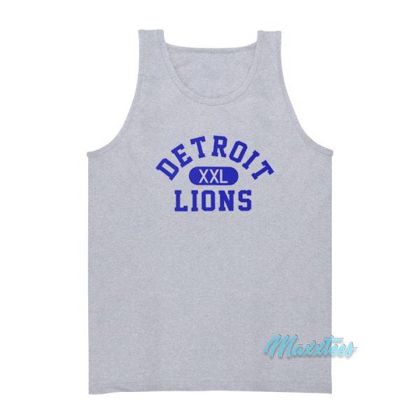 Tim Taylor's Detroit XXL Lions Tank Top
