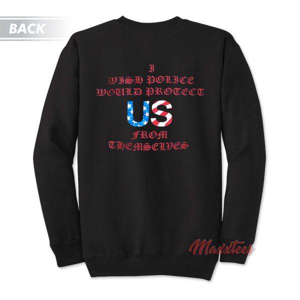 FOAR Friend Of A Rapper Anti Police Brutality Sweatshirt