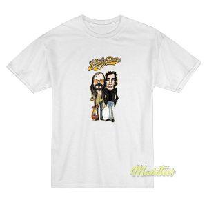 Steely Distressed Art Dan Rock Music Holiday T-Shirt