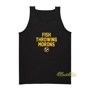 Fish Throwing Morons Tank Top