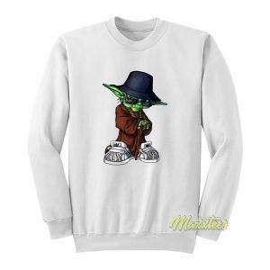 Hip Hop Baby Yoda Sweatshirt