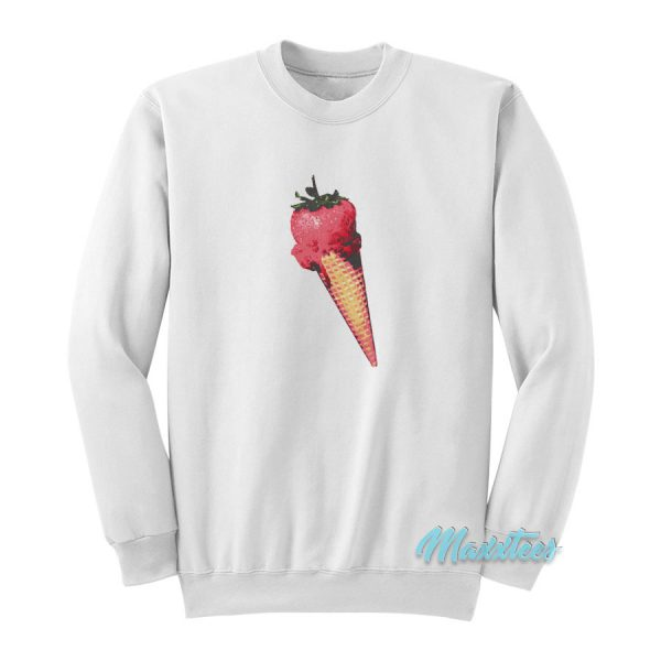 Olivia Rodrigo Strawberry Ice Cream Sweatshirt