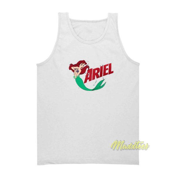 Ariel Svg Little Mermaid Tank Top