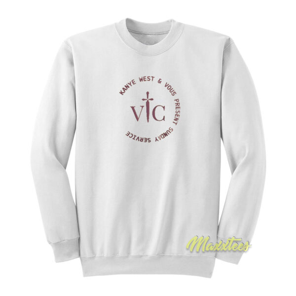 Kanye West x Vous Church Sunday Service Sweatshirt