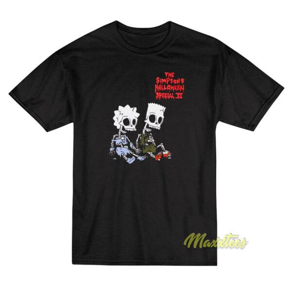 The Simpson Halloween Special XI Girls T-Shirt