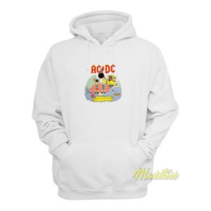 1996 Beavis and Butthead ACDC Mtv Hoodie