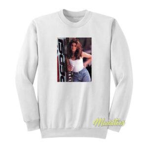 Cindy Crawford Pepsi Vintage Sweatshirt