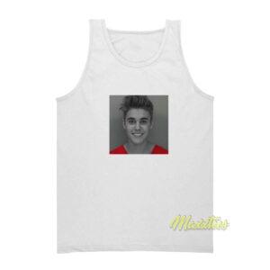Justin Bieber Mugshot Tank Top Unisex