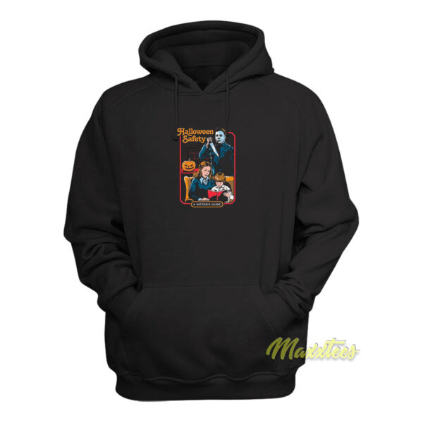 Michael Myers Halloween Safety A Sister Guide Hoodie